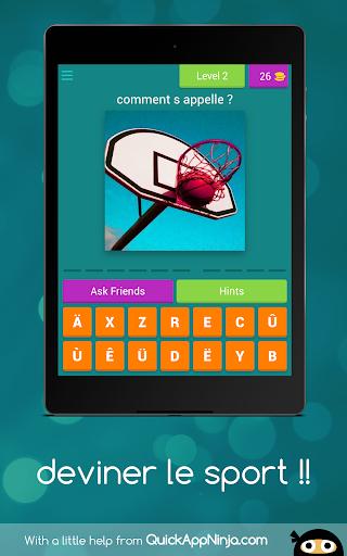 deviner le sport !! android2mod screenshots 5