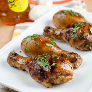 Honey and Garlic Chicken.