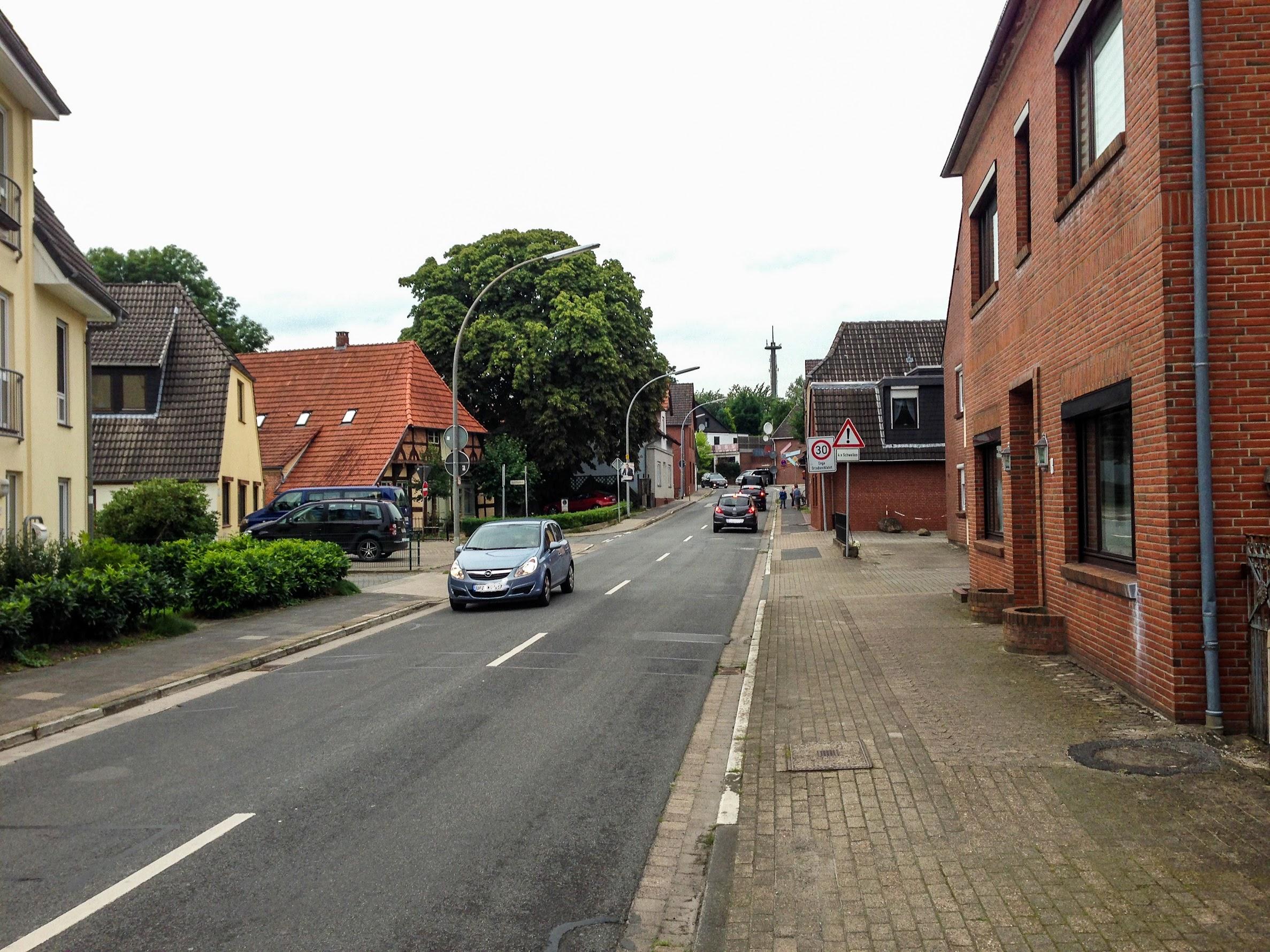Radweg Hundestraße in Osterholz-Scharmbeck