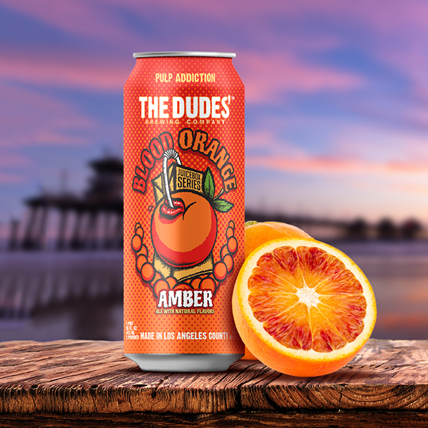 Logo of The Dudes' Juicebox Series: Blood Orange Amber