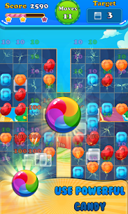 Booster Candy : Candy Jelly Crush Blast Mania 6