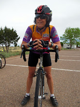Photo: Veronica  is eager to get started on old Route 66 through the Painted Desert