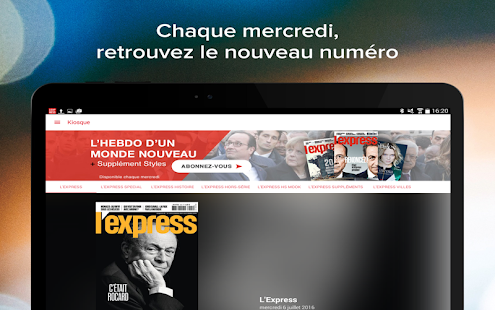 L'Express - Magazine- screenshot thumbnail
