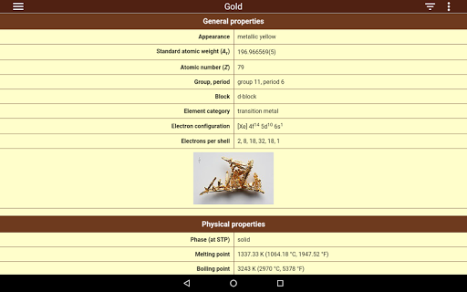 Periodic table 103 apk by iexamonline details periodic table screenshot 7 urtaz Choice Image