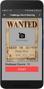 Wanted Poster(Ranking) - náhled