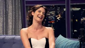 Cobie Smulders Wears a Strapless Black & White Dress thumbnail