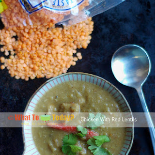 CHICKEN with RED LENTILS Recipe