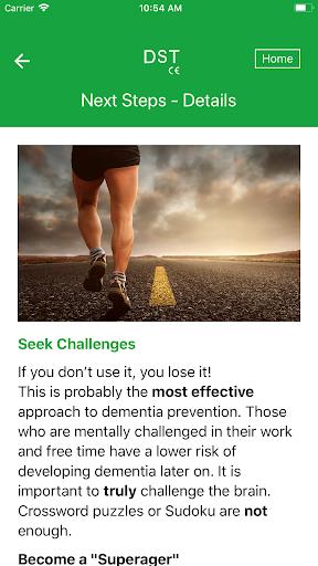 DST - Dementia Screening Test, Alzheimer Test screenshot 13