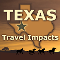 Texas Travel Impacts icon