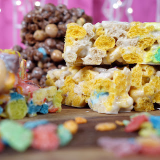 Choose-Your-Own-Adventure Marshmallow Cereal Treats.