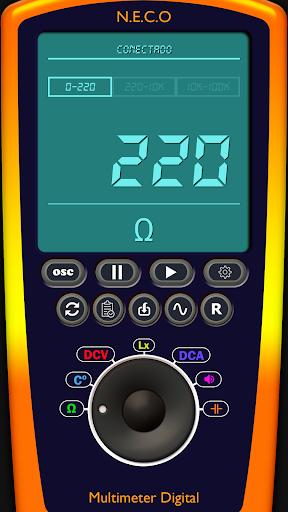 Arduino Digital Multimeter/Oscilloscope Free  screenshots 1