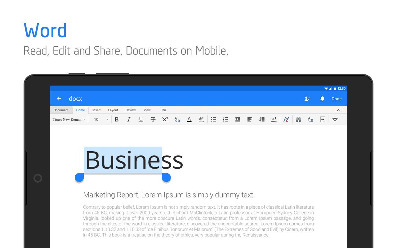 Polaris Office - Word, Docs, Sheets + PDF Reader- screenshot