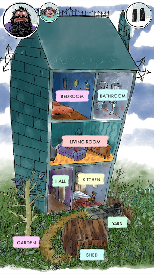 Roald Dahl's House of Twits- screenshot