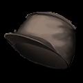 黒いやきゅう帽