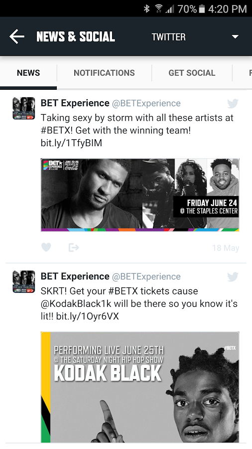 BETX '16- screenshot