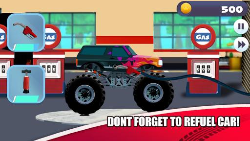 Truck Racing for kids Screenshot