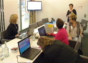 Photo: Workshop 'Xtra Outlook kennis voor gevorderden' o.l.v. Nathalie Strik