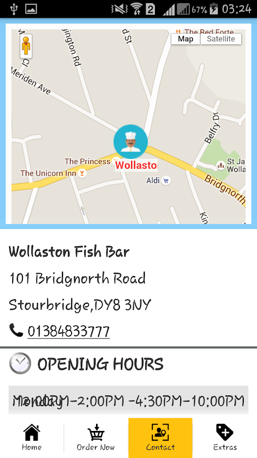 Wollaston Fish Bar- screenshot
