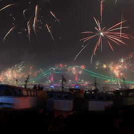 firework by Sandi Nopri yanto - Public Holidays New Year's Eve