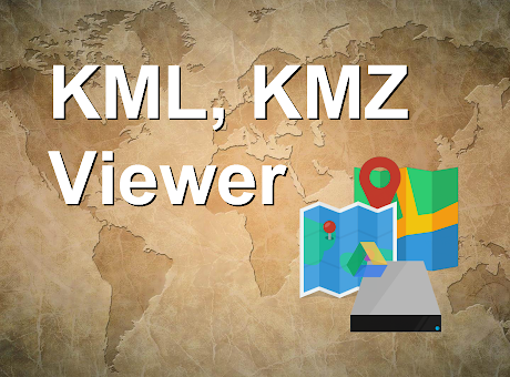 KML, KMZ Viewer with Drive