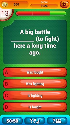 英语语法 测试 3级 问答游戏|玩教育App免費|玩APPs