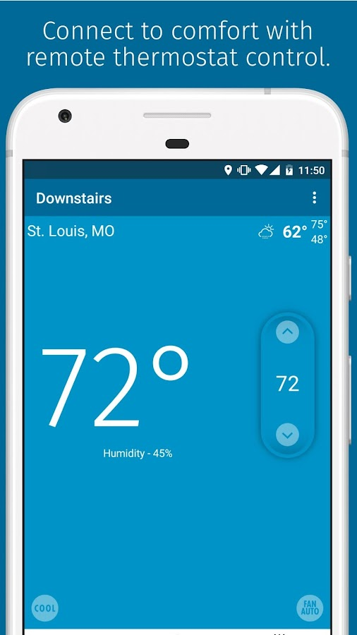 Remote Thermostat Control From Phone Sensi  Android Apps On Google Play