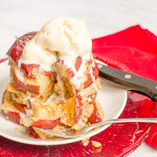 Easy Healthy Apple Crisp Stacks