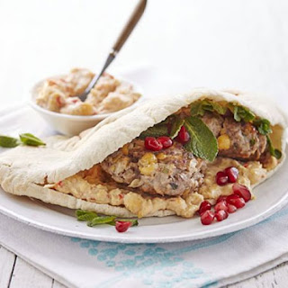 Lamb & Chickpea Pitta Burger