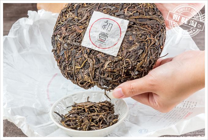 初壹茶品極品神木普洱生茶茶餅4