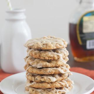 Maple-Glazed Oatmeal Chocolate Chip Cookies.