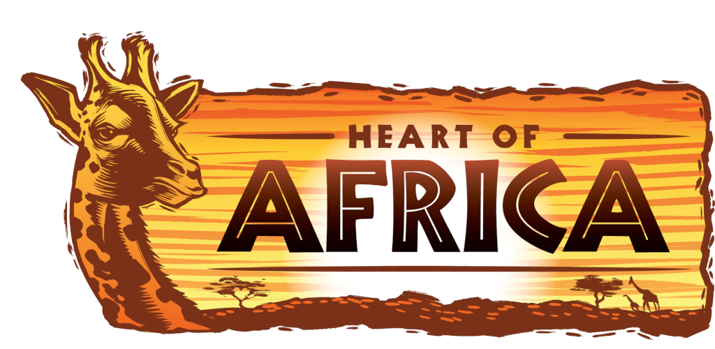 Днем, картинка с надписью африка