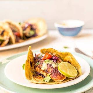 Tilapia Fish Tacos.