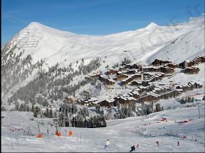 Photo: Belle-Plagne, Paradiski. Plus d'info sur le site : http://www.perso-laplagne.fr copyright RG