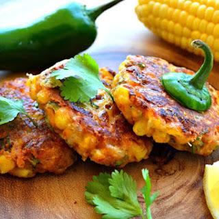 Corn & Jalapenos fritters.