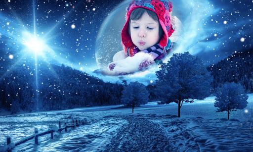 Snowfall Frames Photo Editor