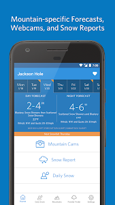 Open Snow Ski Forecasts screenshot 1