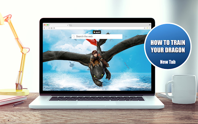 HD How to Train Your Dragon Theme New Tab