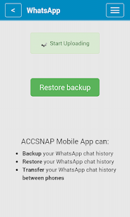 ACCSNAP - Backup for Mobiles- screenshot thumbnail