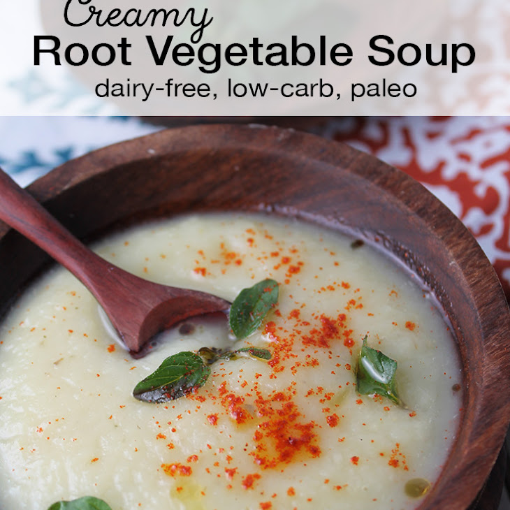 Creamy Root Vegetable Soup Recipe