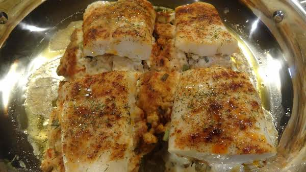 Stuffed Fish Fillets--bonnie's Recipe