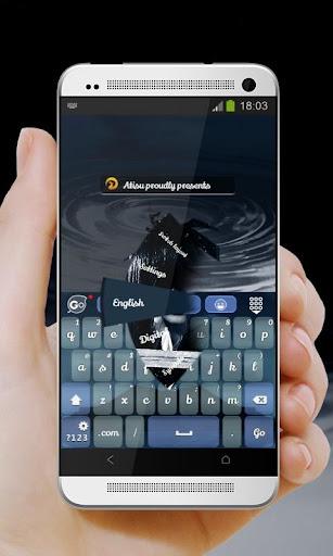 戦士の少女 GO Keyboard