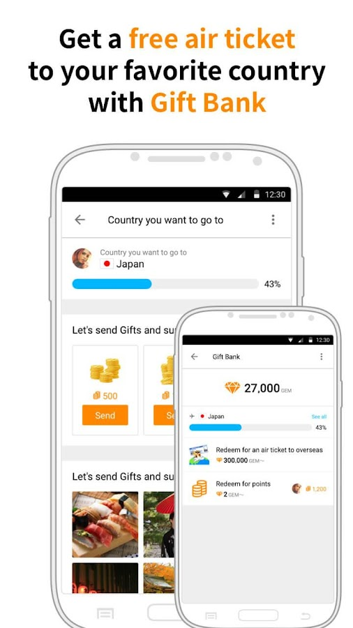 Airtripp:Free Foreign Chat- screenshot