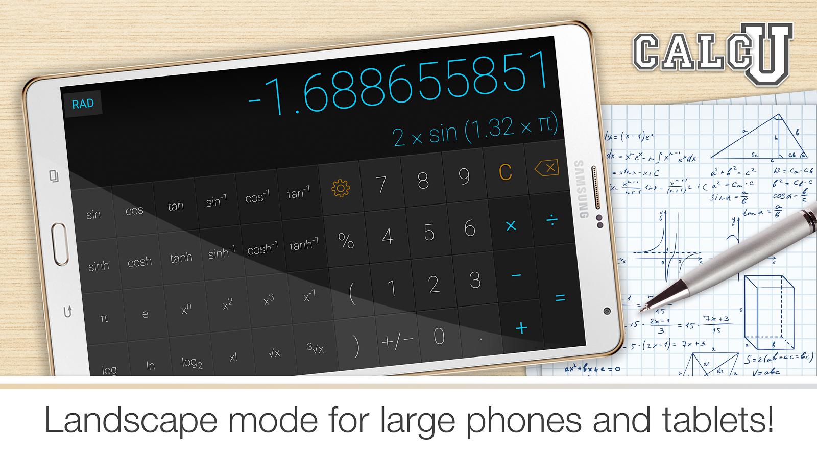 CALCU™ Stylish Calculator Free- screenshot
