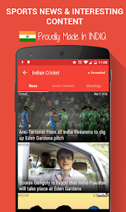 Sportskeeda Live Scores & News- screenshot thumbnail