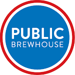 Logo of Public Brewhouse Whiskey Del Bac Saison Noir