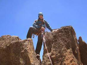 Photo: Ken on summit