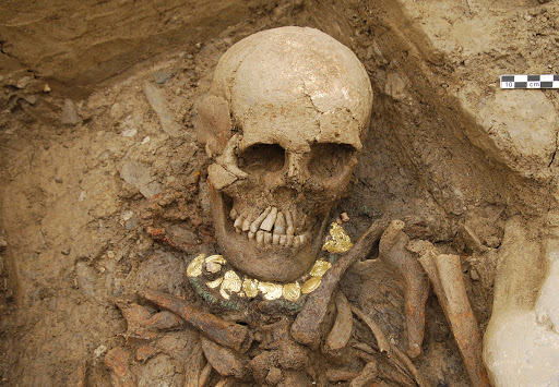 3000 year old Bronze Age skeletons found in Swiss Alps