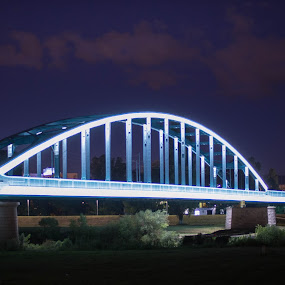Hendrix Bridge by Nena Volf - Buildings & Architecture Bridges & Suspended Structures ( rail bridge, hendrix bridge, zagreb )