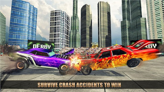 Car Crash Destruction: Demolition Derby Game - náhled