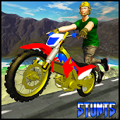 Jumping Moto Bike Stunts